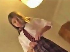 Hot Blonde Teen Fucked In Her Cute Schoolgirl Outfit